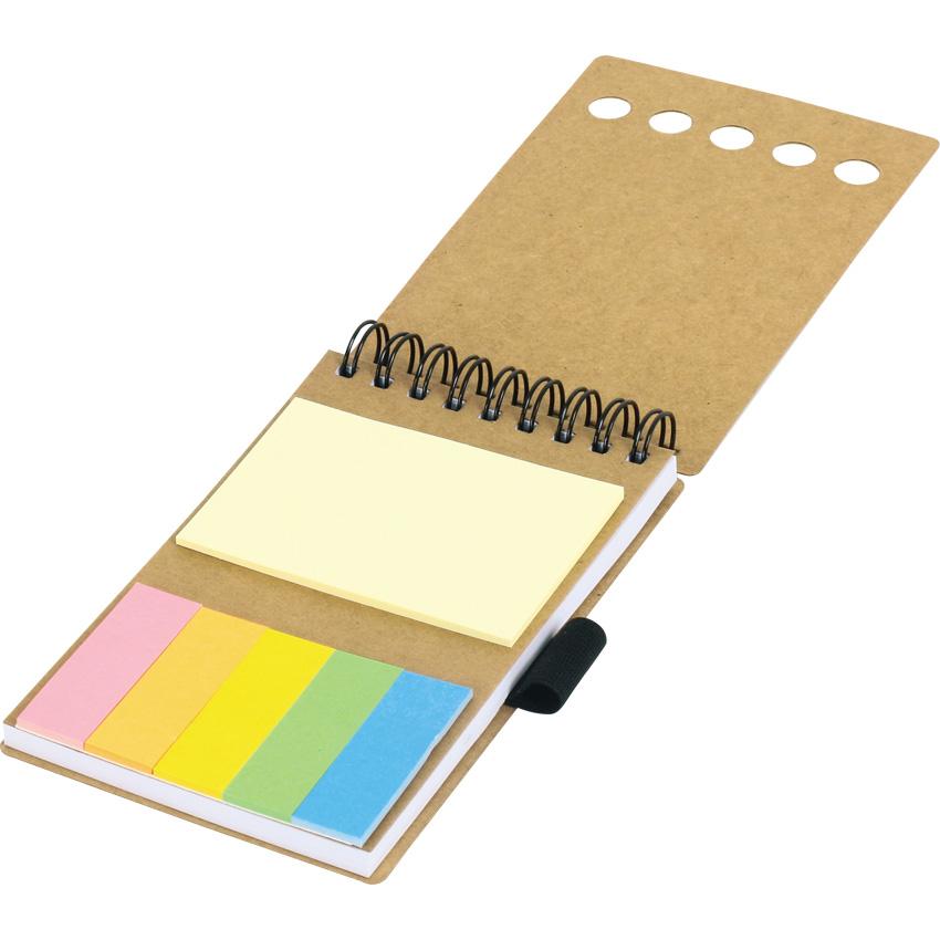 GD-012 Renkli Yapışkanlı Notluk - resim 1