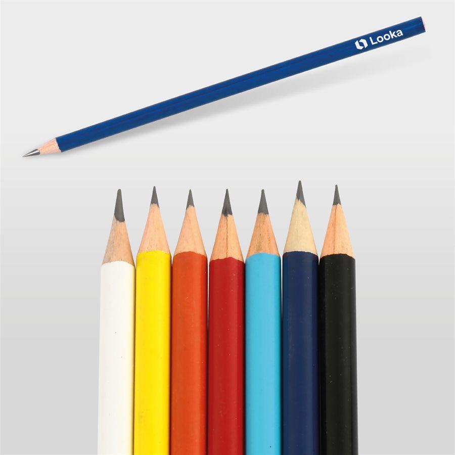 0522-185-L Yuvarlak Renkli Kurşun Kalem - resim 1