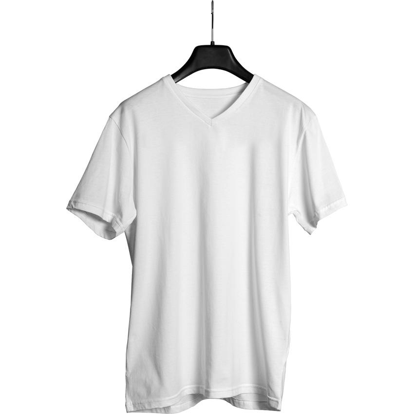 5200-14-SB V Yaka Tişört - resim 1
